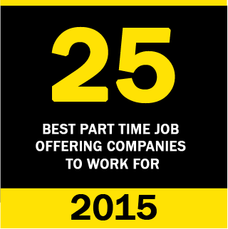 25 Best Part Time Job Company 2015
